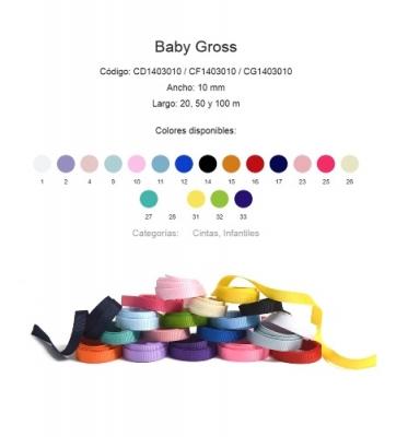 Cinta Baby Gross De 10 Mm. Por 20 Mts.