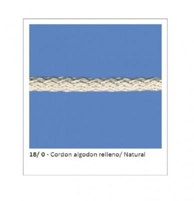 CordÓn De AlgodÓn Art. 18 Crudo Por 100 Mts.