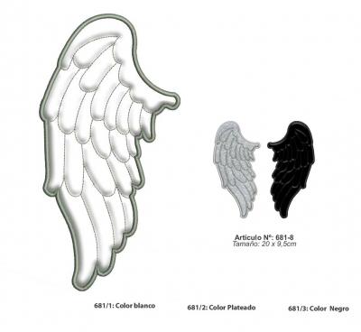Aplicaciones Art. 681 - 682/8 Alas Por Par
