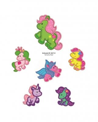 Aplicaciones Art. 857/9 Unicornio Por 6 Unidades
